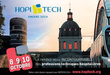 HOPITECH 2014 Angers automatisme hygiene